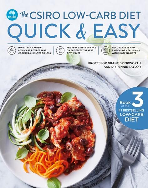 The CSIRO Low-Carb Diet Quick & Easy - pr_430994