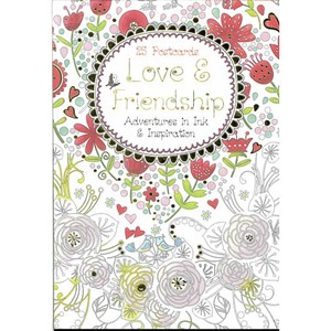 Love & Friendship Postcards Book