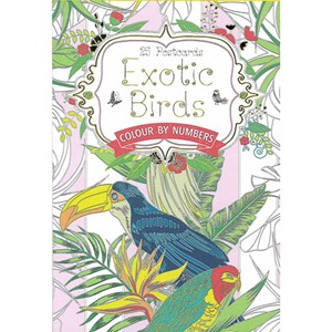 EXOTIC BIRDS POSTCARD BOOK