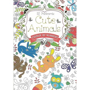 CUTE ANIMALS POSTCARD BOOK