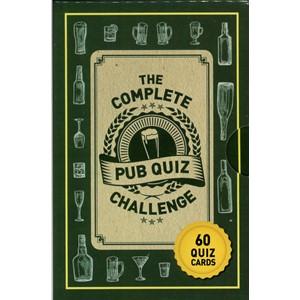 The Complete Pub Quiz Challenge: Puzzle Cards