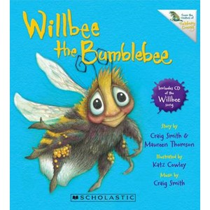 Willbee the Bumblebee with CD