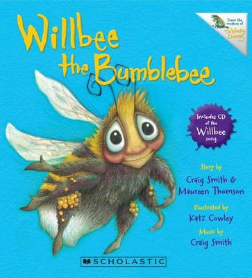 Willbee the Bumblebee with CD - pr_421972