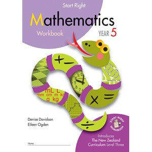 Sr Year 5 Mathematics Workbook